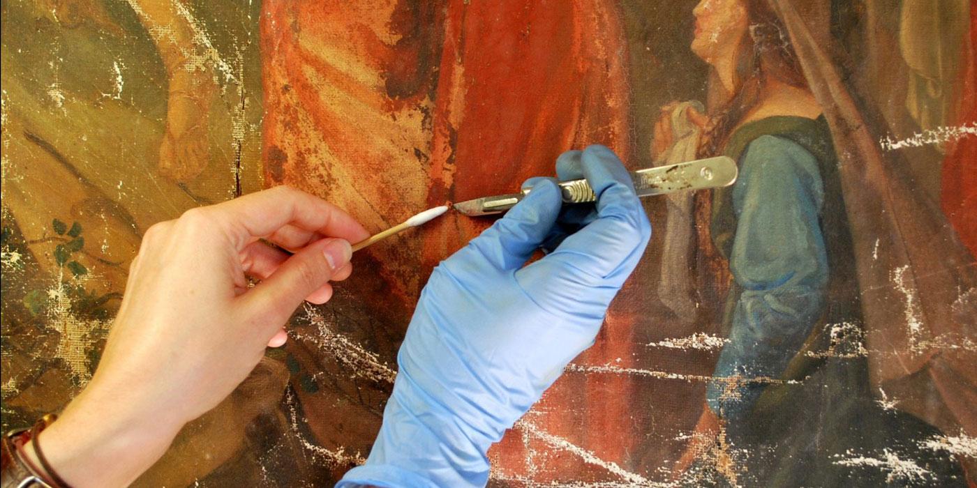 restauration des peintures