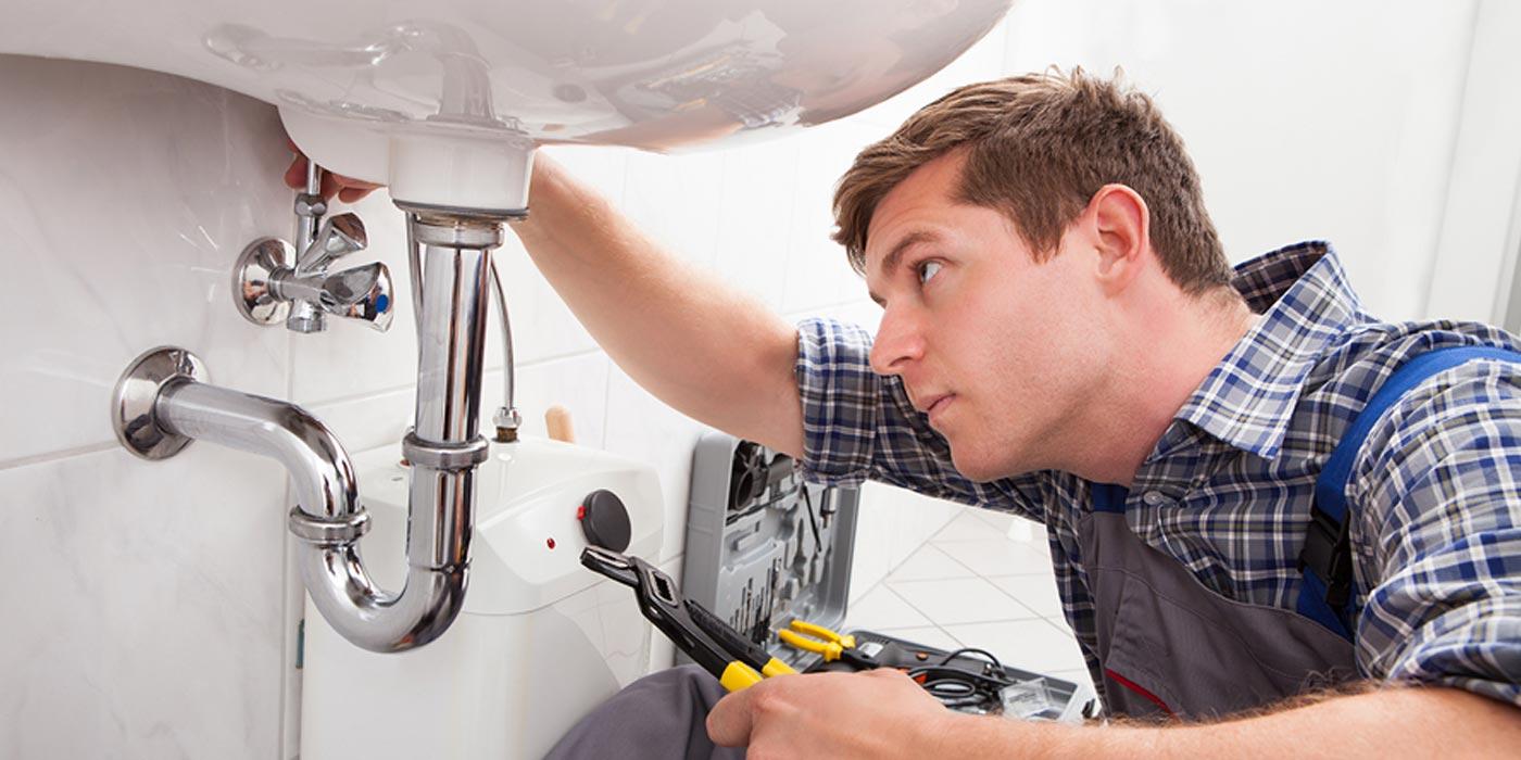 Le métier d'un plombier