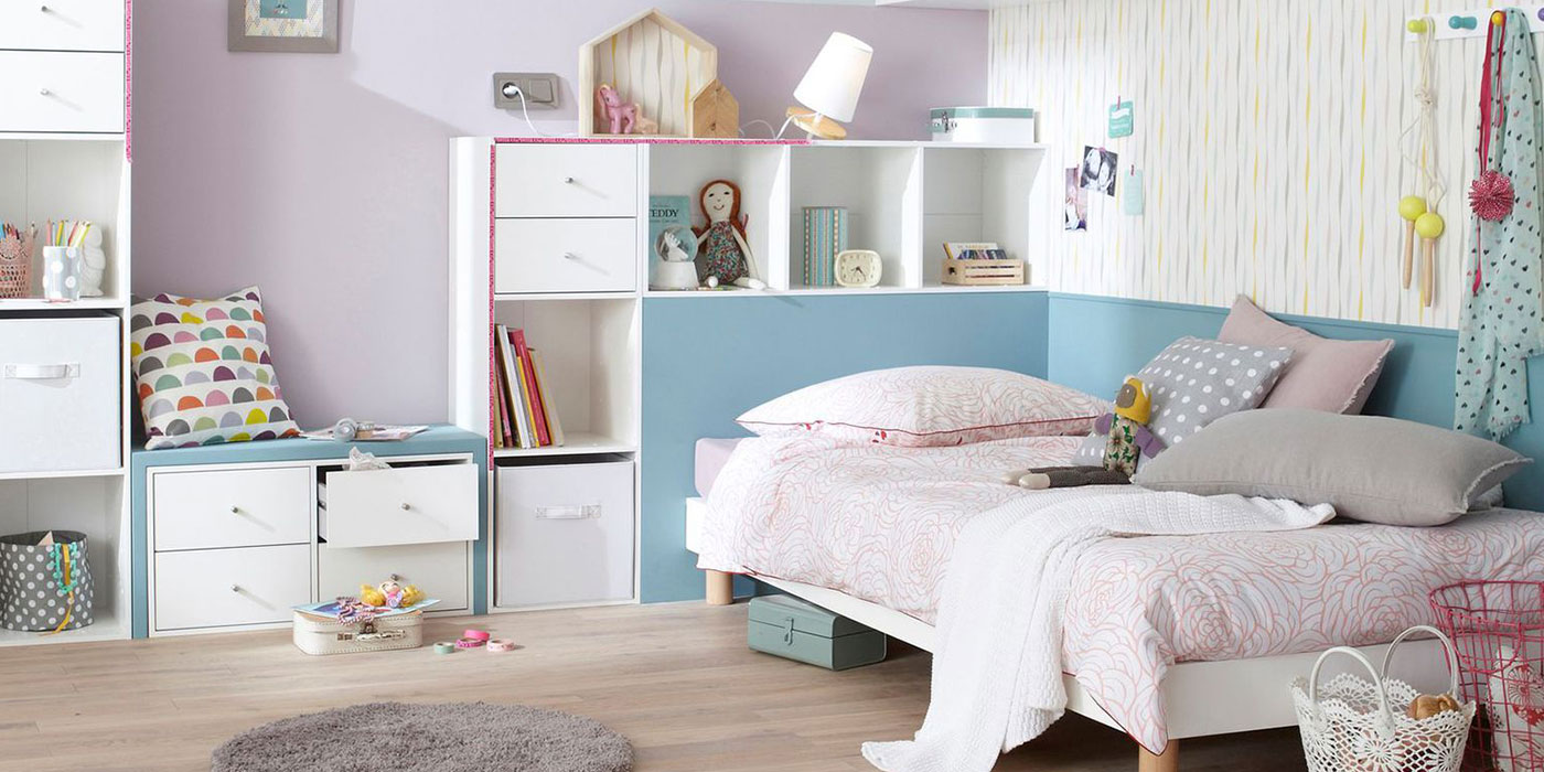 r aliser la d coration d 39 une chambre de fille. Black Bedroom Furniture Sets. Home Design Ideas