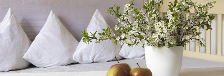 plantes fleurs artificielles