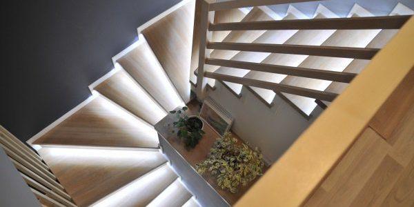 Ruban LED 24V escalier