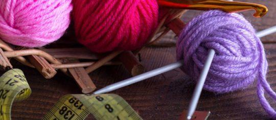 Matériel de crochet de tricot