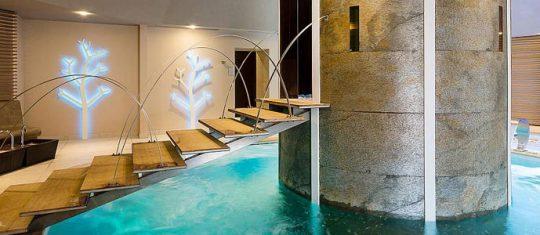 feuille de pierre piscine