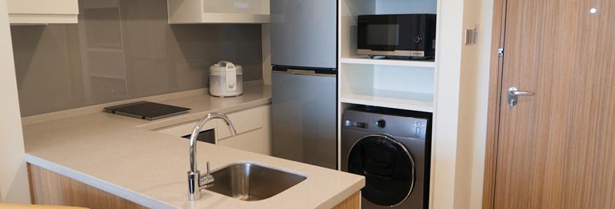 Acheter une petite cuisine moderne